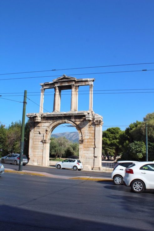 The Arch of Hadrian, 131 AD