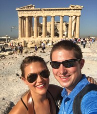 Acropolis - Athens, Greece - Lauryn and Eric