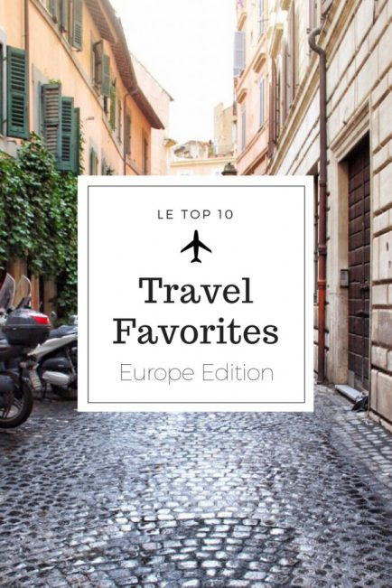 My favorite travel products