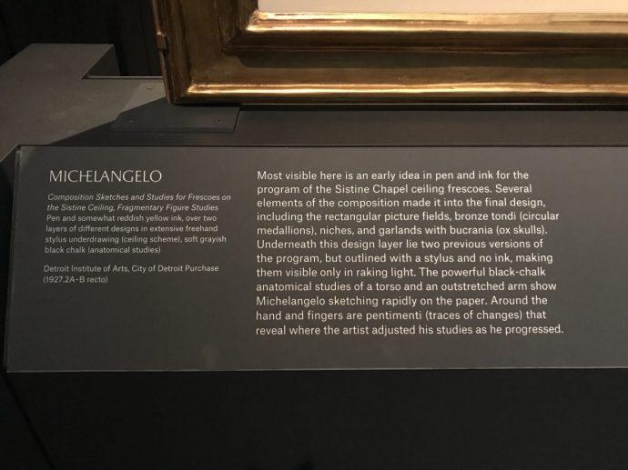Michelangelo- The Met - New York
