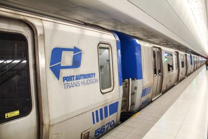 The train that connects NJ with NYC