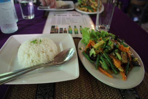 Lunch in Cambodia
