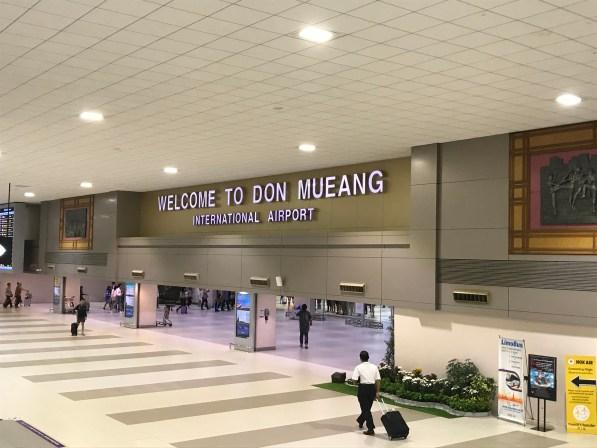 Don Mueang airport Bangkok, Thailand