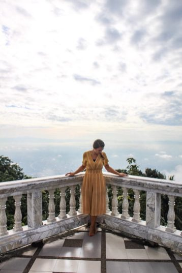 Looking out on to Chiang Mai from Wat Phra That Doi Suthep