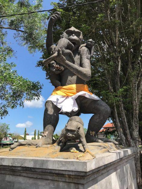 Statue in Ubud Bali