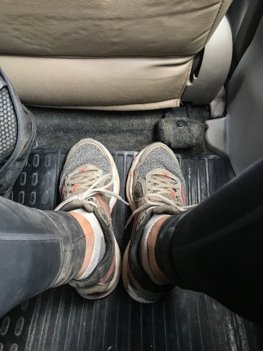 My dusty shoes