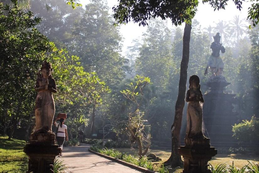 Entrance of Tirta Empul Holy Springs Temple Ubud Bali
