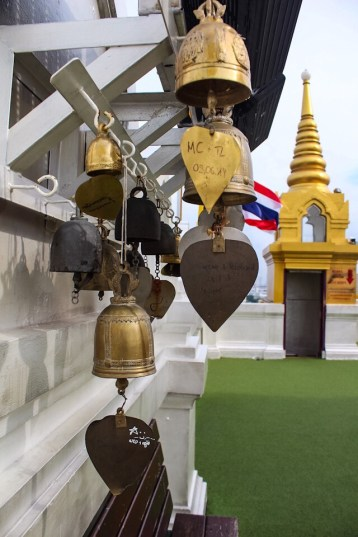 Bells at Wat Saket in Bangkok