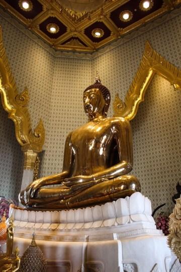 Temple of the Golden Buddha Bangkok Thailand