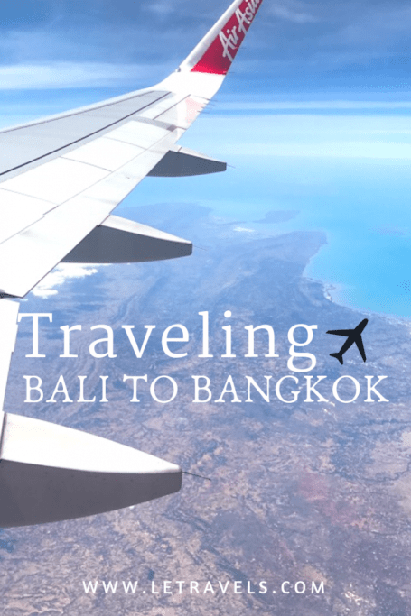 Traveling from Bali to Bangkok can be stressful. Here's how we navigated through taxi scams in Bangkok and arrived in the most amazing hotel | #Bangkok #Bali #Travel #Thailand #Indonesia
