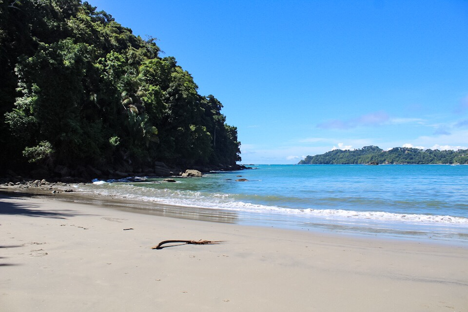 Beach at Manuel Antonio National Park in Costa Rica