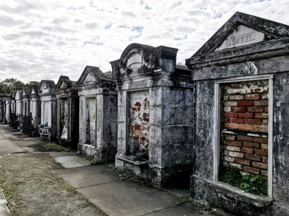 Lafayette Cemetery number 1 in New Orleans