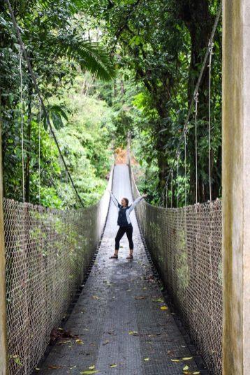 Dante Hanging Bridge at Arenal Observatory Lodge in La Fortuna Costa Rica