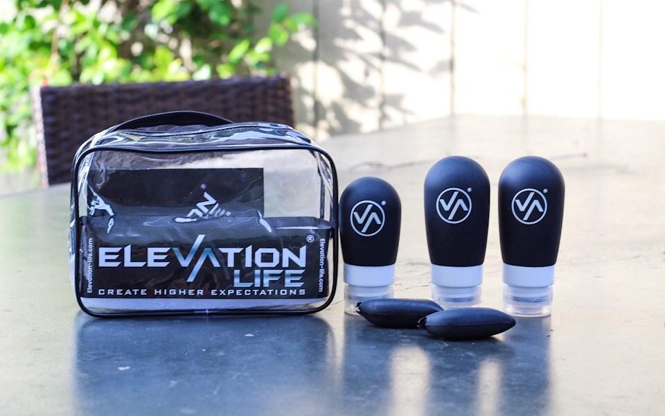 Elevation Life TSA approved toiletry bag