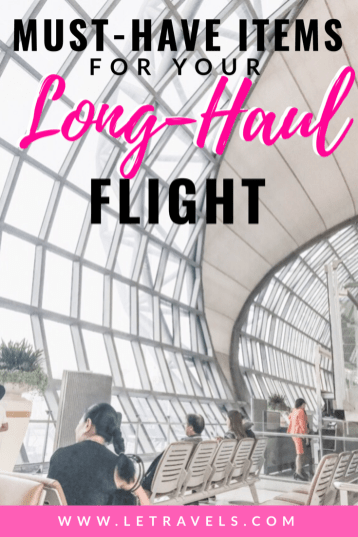 Long-Haul Flight Essentials | You need these 10 things before your next international flight | #international #travel #travelguide #europe #asia