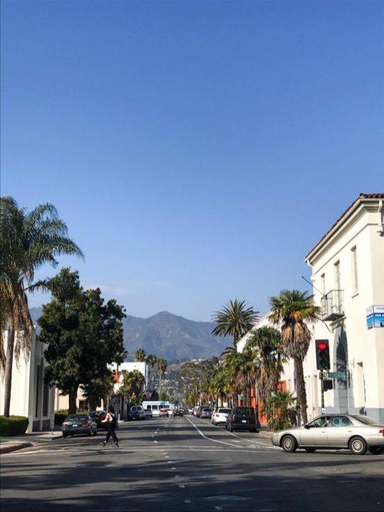 Downtown Santa Barbara California