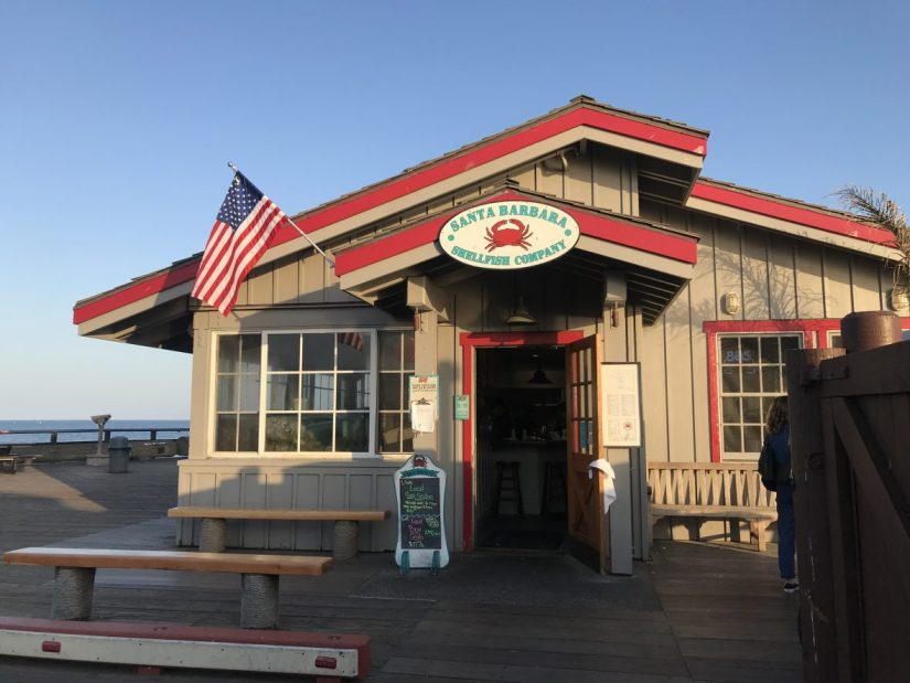Santa Barbara Shellfish Company in California