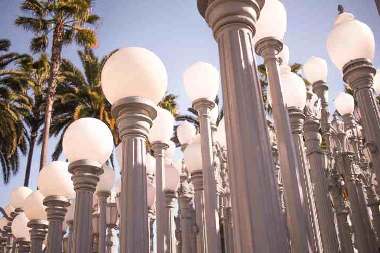LACMA urban lights