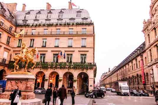 hotel regina in paris