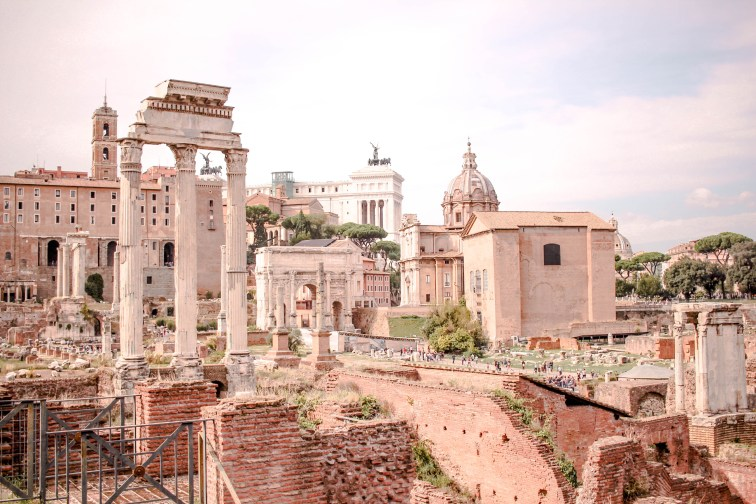The Ruins, Roman Forum, Rome, Italy