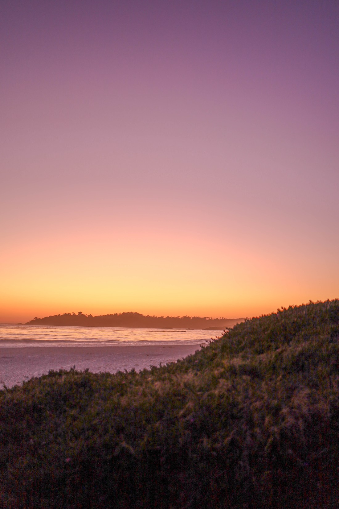 carmel by the sea sunset