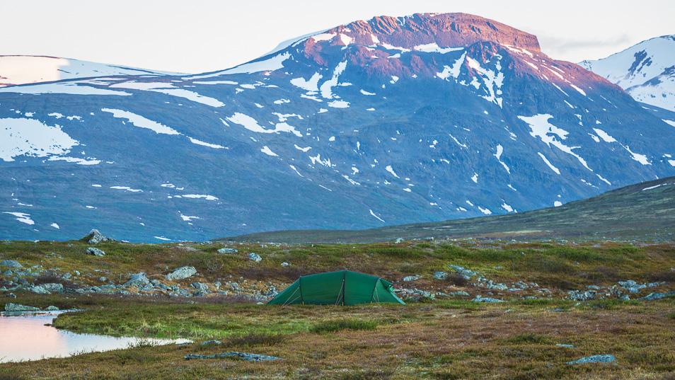 Vårt tält: home sweet home
