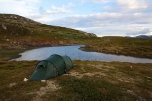 Tältet på Ottfjället