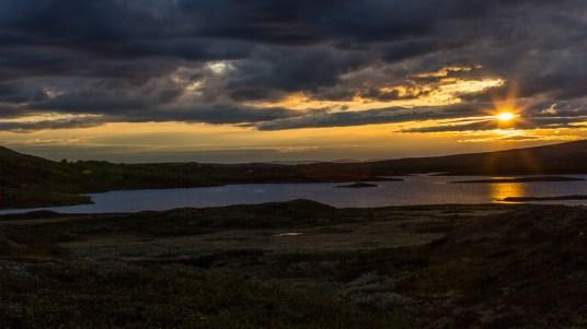 Kvällsutsikt över Anderssjön