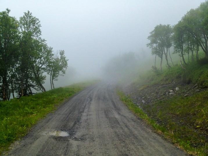 Vägen upp på Åreskutan