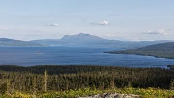 Utsikt över Kallsjön mot Åreskutan