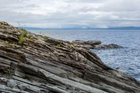 Klippor vid Kallsjön