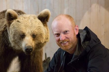 Emil med björn