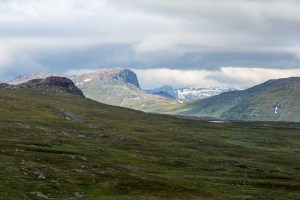 Utsikt mot norska fjäll