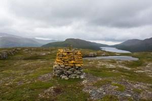 Riksröse 209A, mot Norge