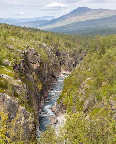 Ánjajohkas kanjon