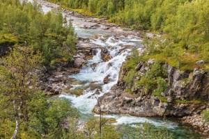 Vattenfall i Ánjajohka
