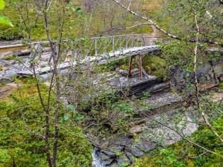 Bron över Luodnajåkka