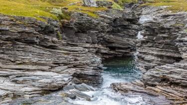 Salvasjåkkas kanjon