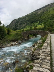 Bro över Gave de Gavarnie
