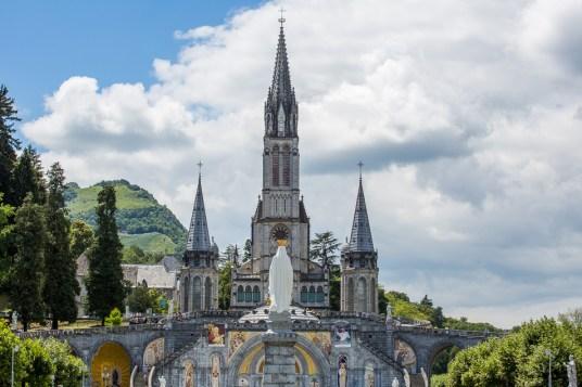 basilikan i Lourdes