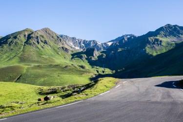 Pic du Midi sett från vägen