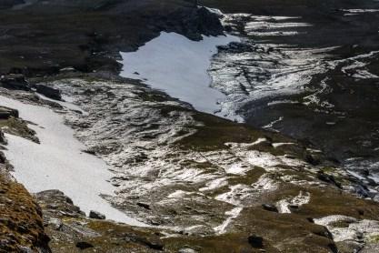 Vatten rinner från snöfälten, Máhttoajvve