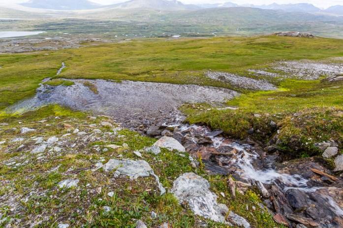 våt mark på gierggevárre
