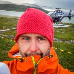 Helikopterselfie