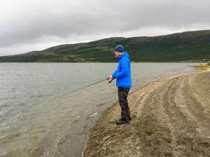Fiske i Virihávrre