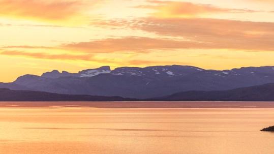 Kvällssol över Virihávrre