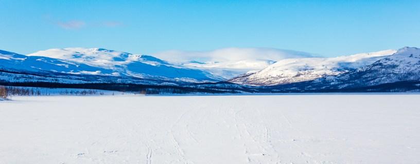 Abiskojaure vinter