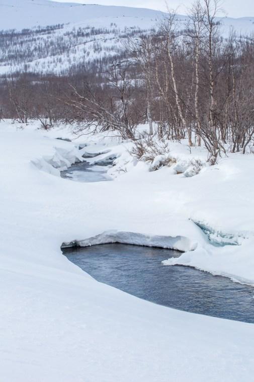 öppet vatten vinter