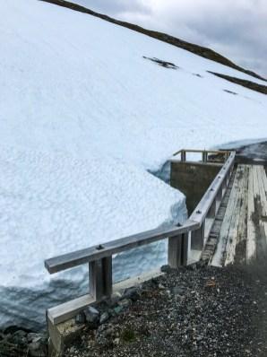 Snö bro Sulitjelma