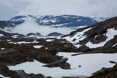 Vinterlandskap i Sulitjelmafjällen